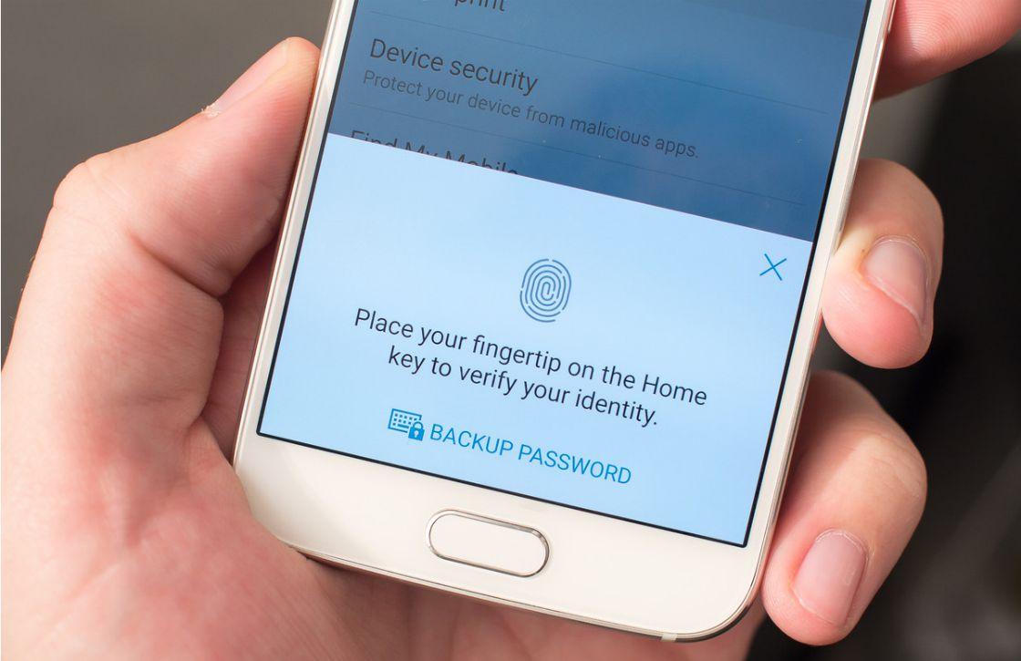 Dit is de eerste vingerafdrukscanner die in touchscreens verwerkt wordt