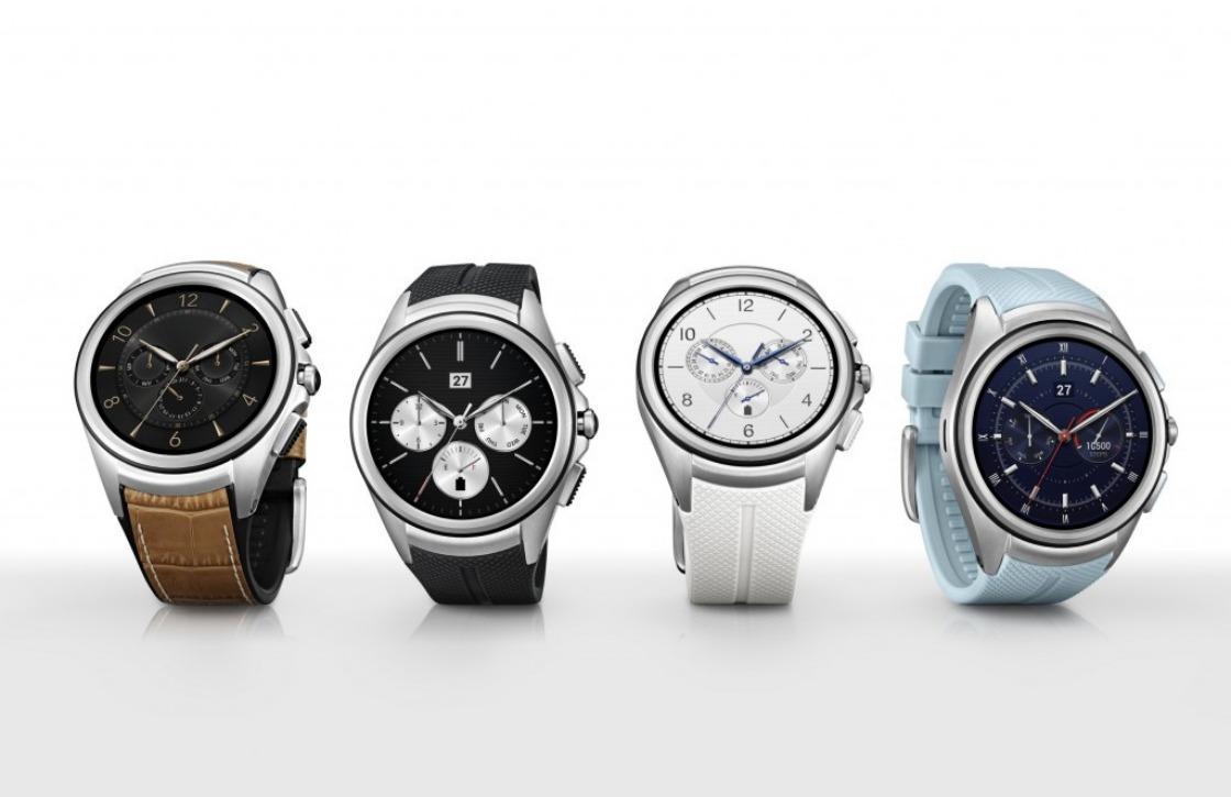 LG presenteert eerste Android Wear-smartwatch met 4G