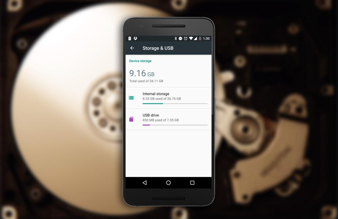 Adoptable storage in Android 6.0: zo breid je je toestelgeheugen uit
