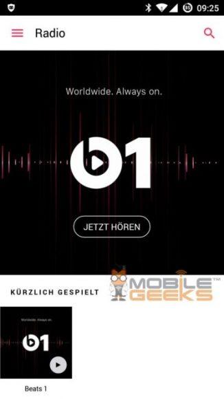 Apple Music screenshots
