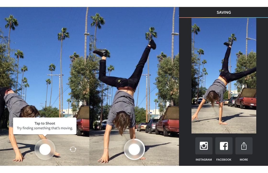 Instagram Boomerang: nieuwe app laat je 1-seconde-video's maken