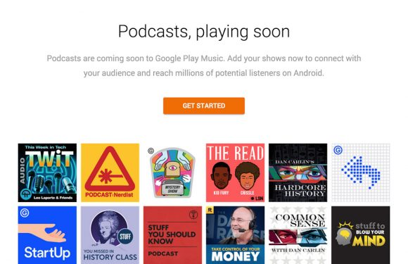 Google Play Music krijgt eigen podcastportaal