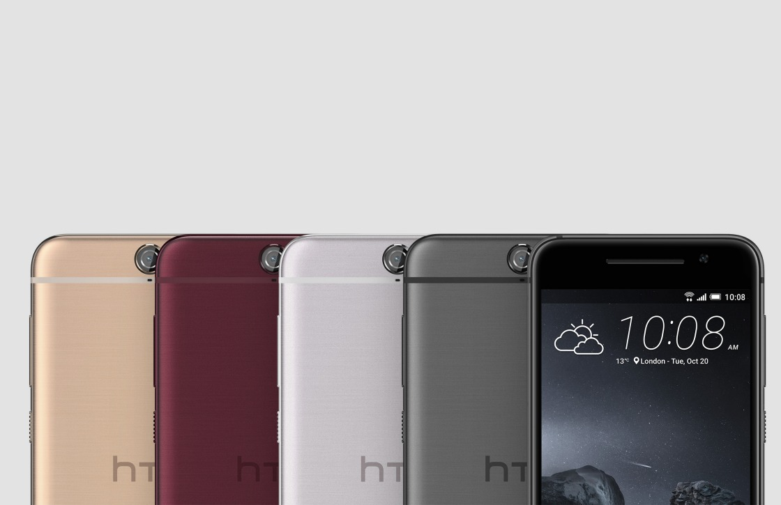 HTC voert 'copycat' design One A9 door in andere series