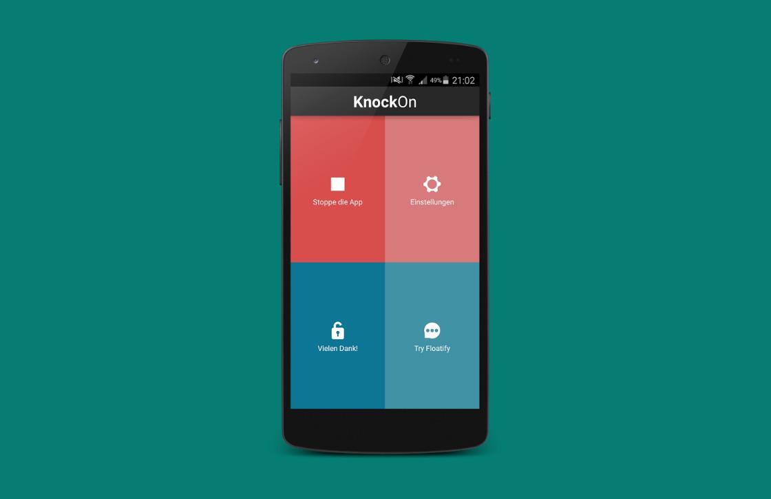 KnockOn: snelle ontgrendelmethode voor elk Android-toestel