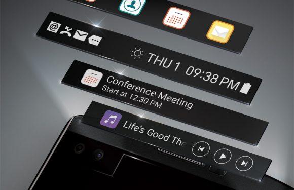 Gerucht: LG G5 krijgt secundair scherm en uitbreidingsslot