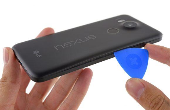 Teardown: Nexus 5X relatief gemakkelijk te repareren