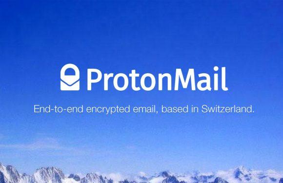 Beveiligde maildienst ProtonMail in november voor iedereen beschikbaar