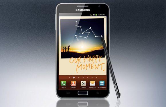 Terugblik op een iconisch Android-toestel: de Samsung Galaxy Note