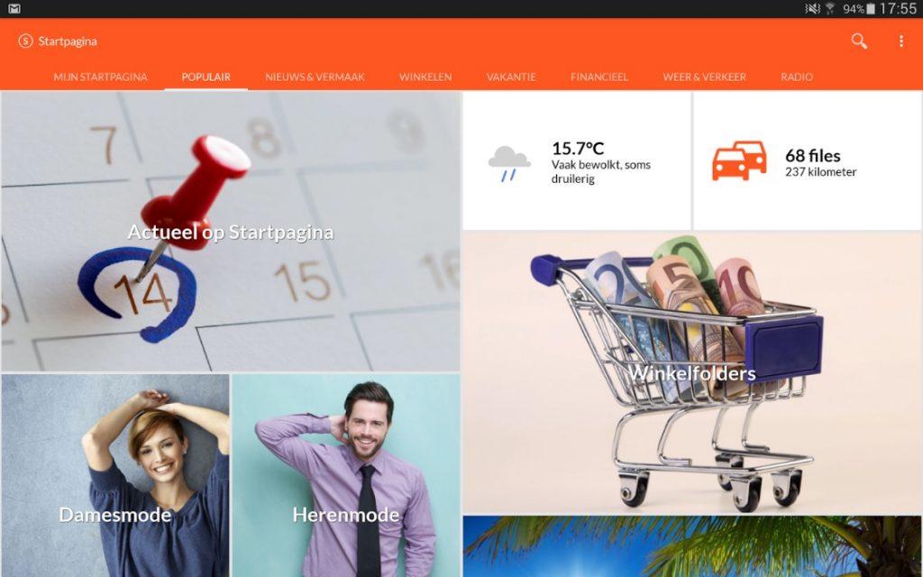 startpagina-app