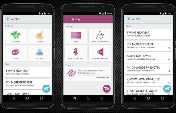 Swiftkey krijgt slimmere tekstvoorspelling en meer Material Design