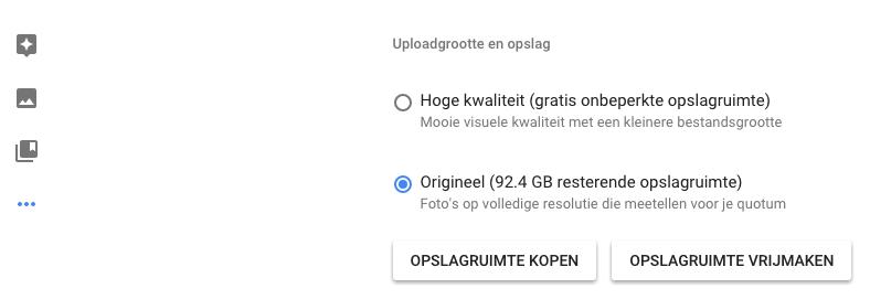 google foto's update