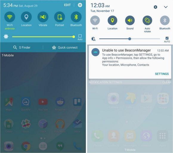 TouchWiz Android Marshmallow