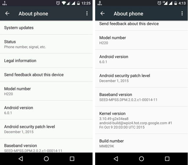 android 6.0.1 uitrol