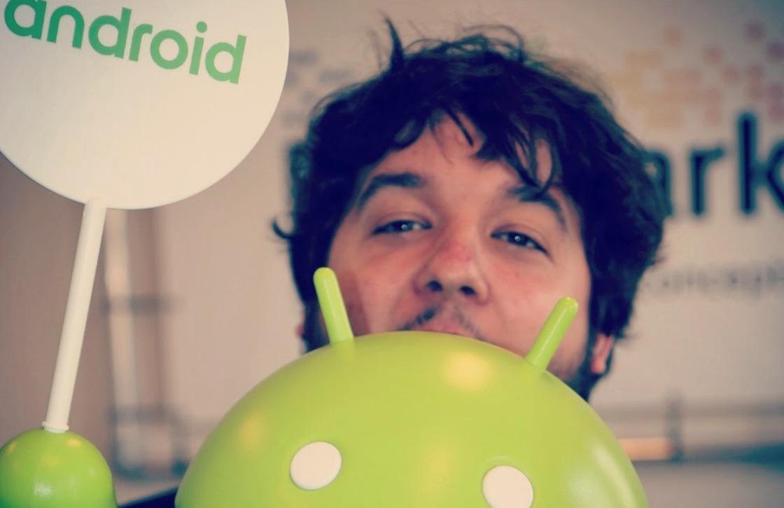 Afscheid Daniël bij Android Planet