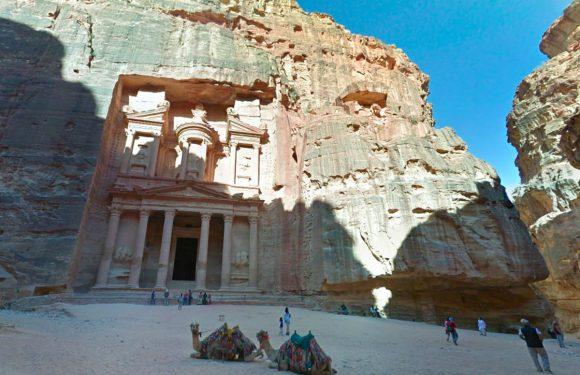 Op reis naar het prachtige Jordanië via Google Maps