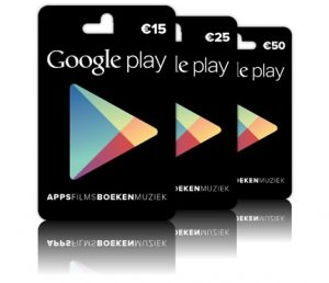 google play cadeaubonnen