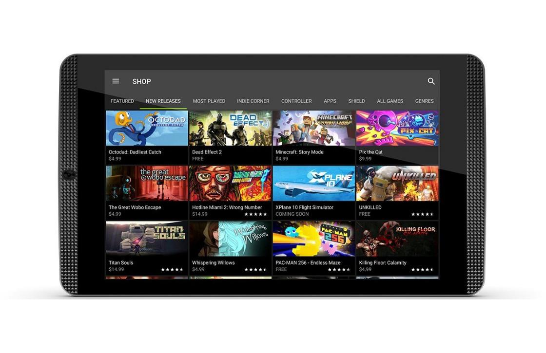 Nvidia brengt gamerstablet opnieuw uit voor lagere prijs