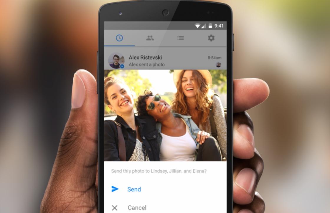 Facebook Messenger krijgt gezichtsherkenning voor delen foto's