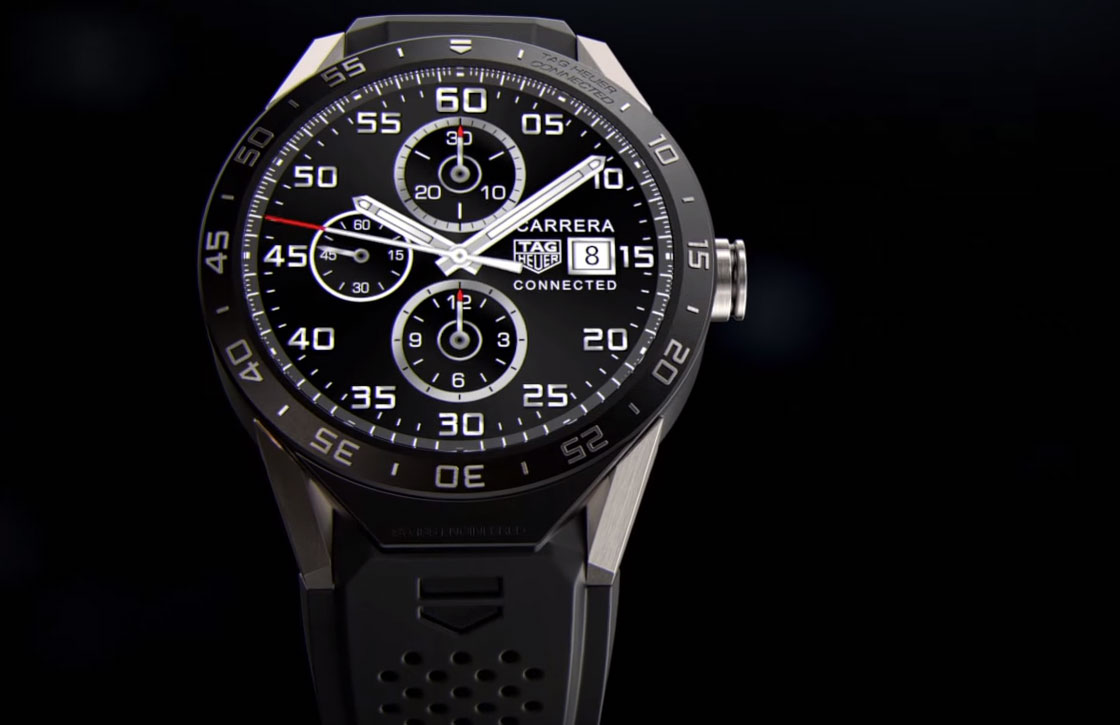 Tag Heuer onthult luxe Android Wear-horloge Connected