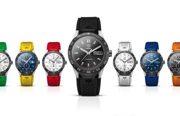 'Tag Heuer werkt aan modulaire smartwatch'