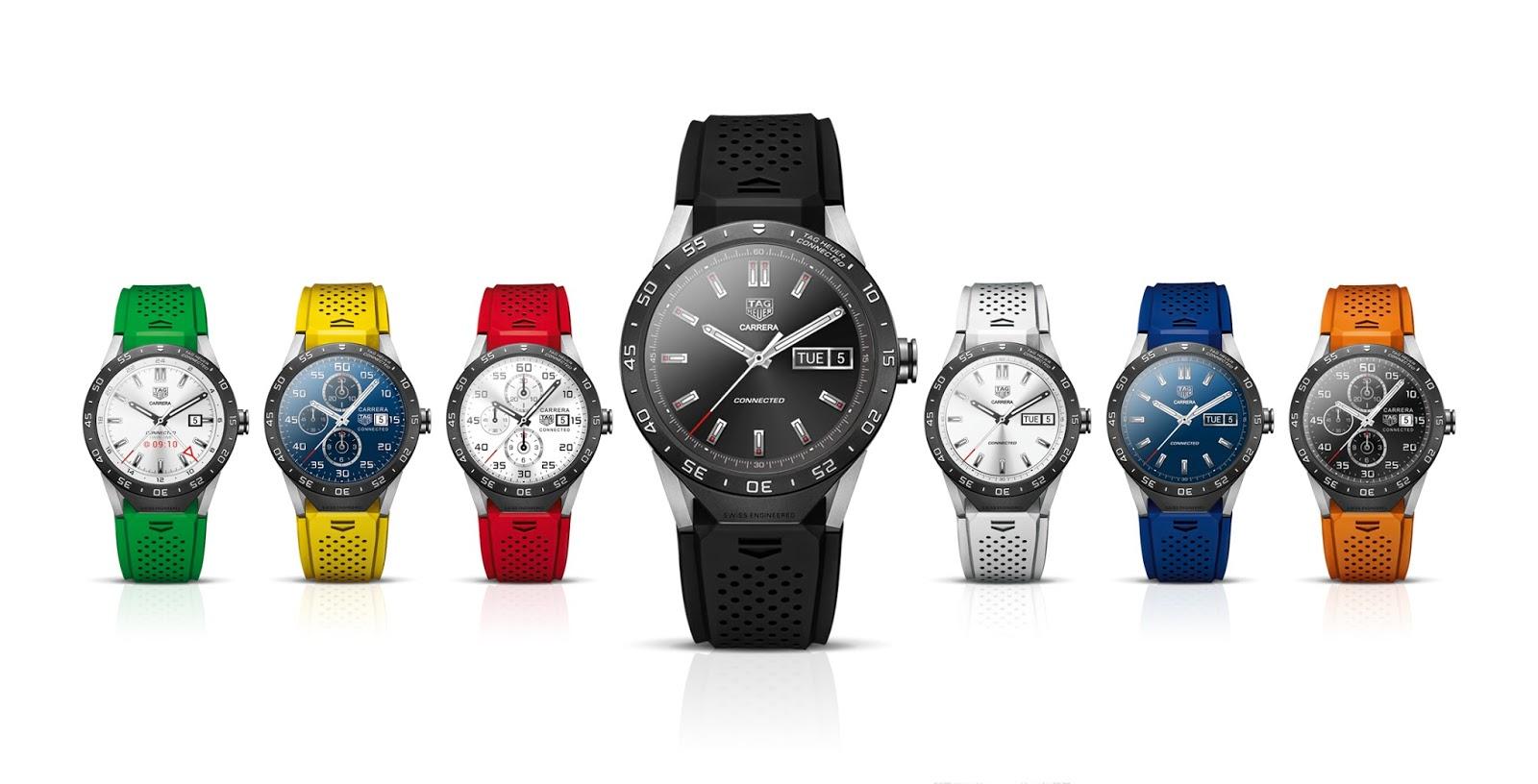 Tag Heuer werkt aan Android Wear 2.0-smartwatch in twee maten