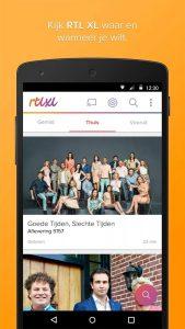 vernieuwde RTL XL-app