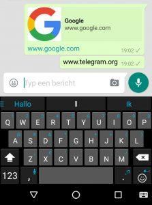 WhatsApp verwijdert Telegram