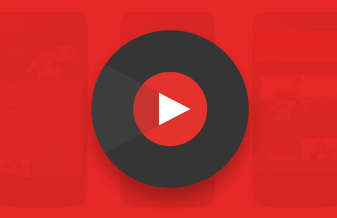 'Google gaat YouTube Music op elke Android-smartphone installeren'