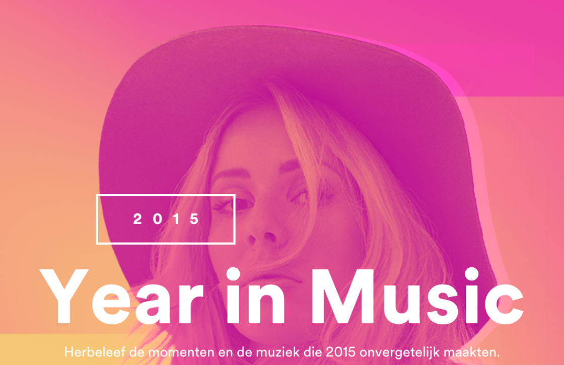 Spotify Year in Music: check wat je in 2015 hebt geluisterd
