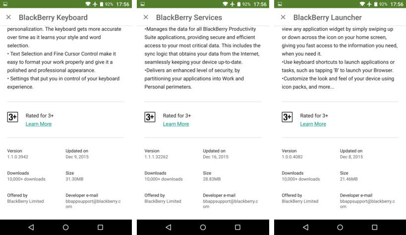 BlackBerry Priv verkopen
