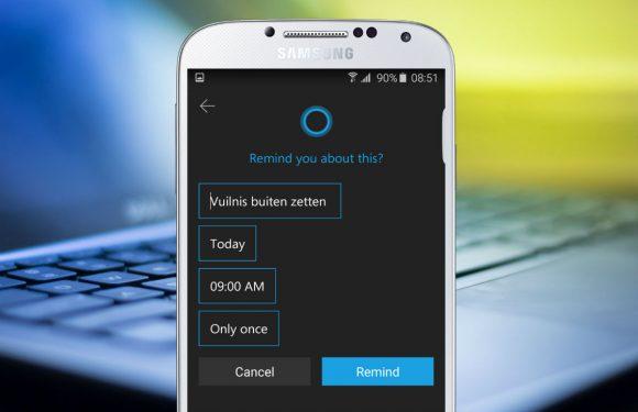 Microsoft brengt digitale assistent Cortana uit, dit kun je ermee