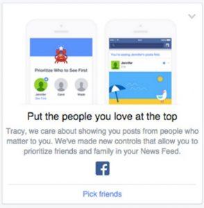 facebook favorieten