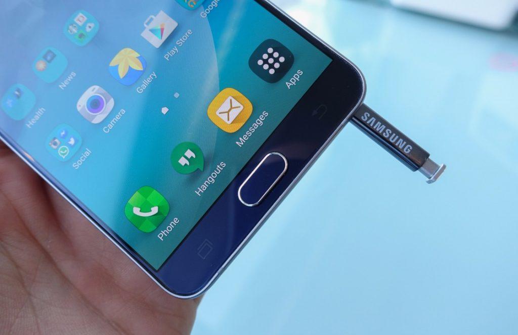 Galaxy Note 5 stylusprobleem opgelost