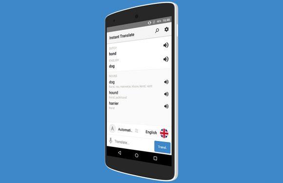 Instant Translate laat je sneller vertalen met je Android