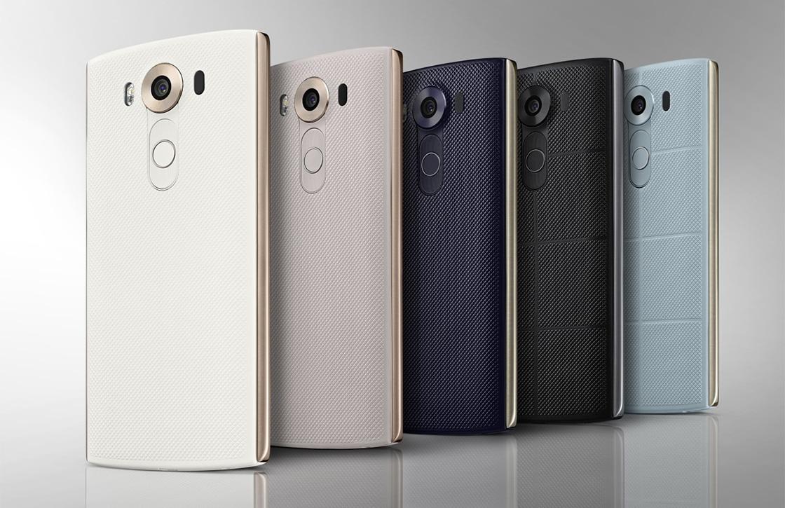 LG V10 met twee schermen nu verkrijgbaar in Nederland
