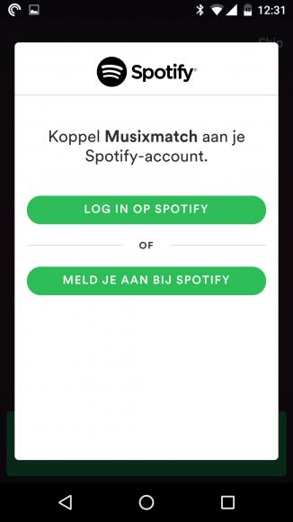 Musixmatch Spotify