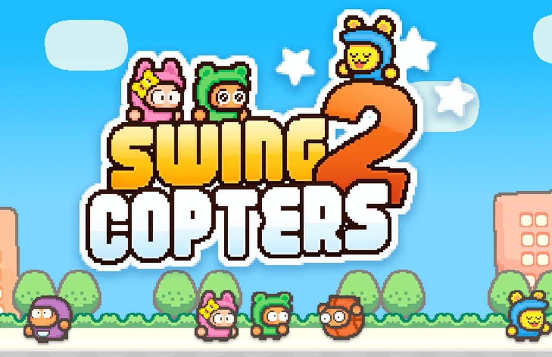 Swing Copters 2: nieuwe game van maker Flappy Bird