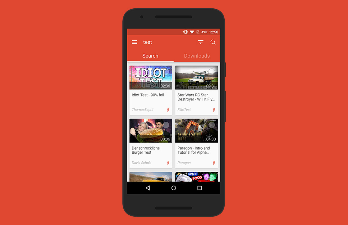 Videoder: de beste app om YouTube-video's te downloaden