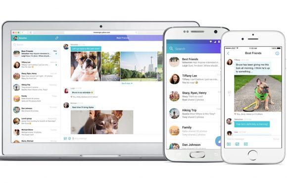 Yahoo Messenger voor Android compleet vernieuwd
