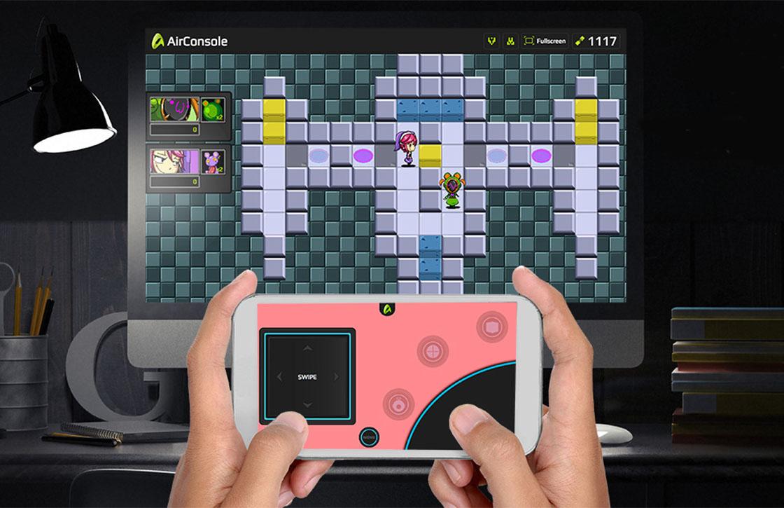 Speel games met je Android als controller met AirConsole
