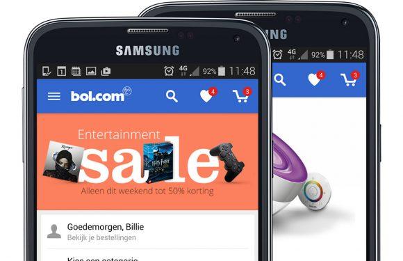 Bol.com laat Android-gebruikers inloggen met vingerafdruk