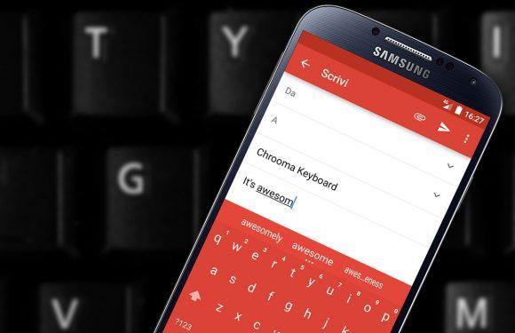 Chrooma Keyboard: fijne vervanger voor je Android-toetsenbord