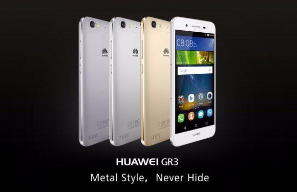 Metalen Huawei GR3 in april naar Nederland voor 229 euro