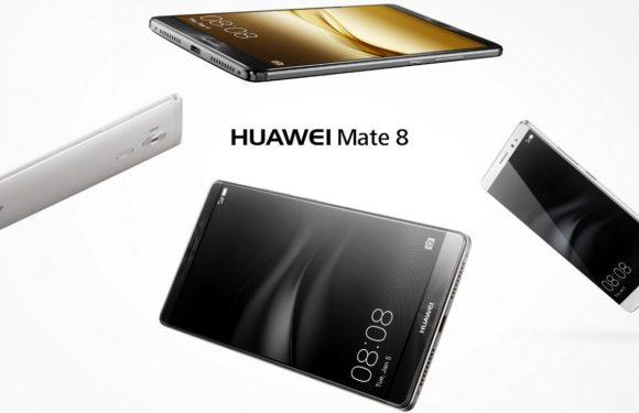 Huawei Mate 8 biedt groot scherm en dito accu voor 599 euro