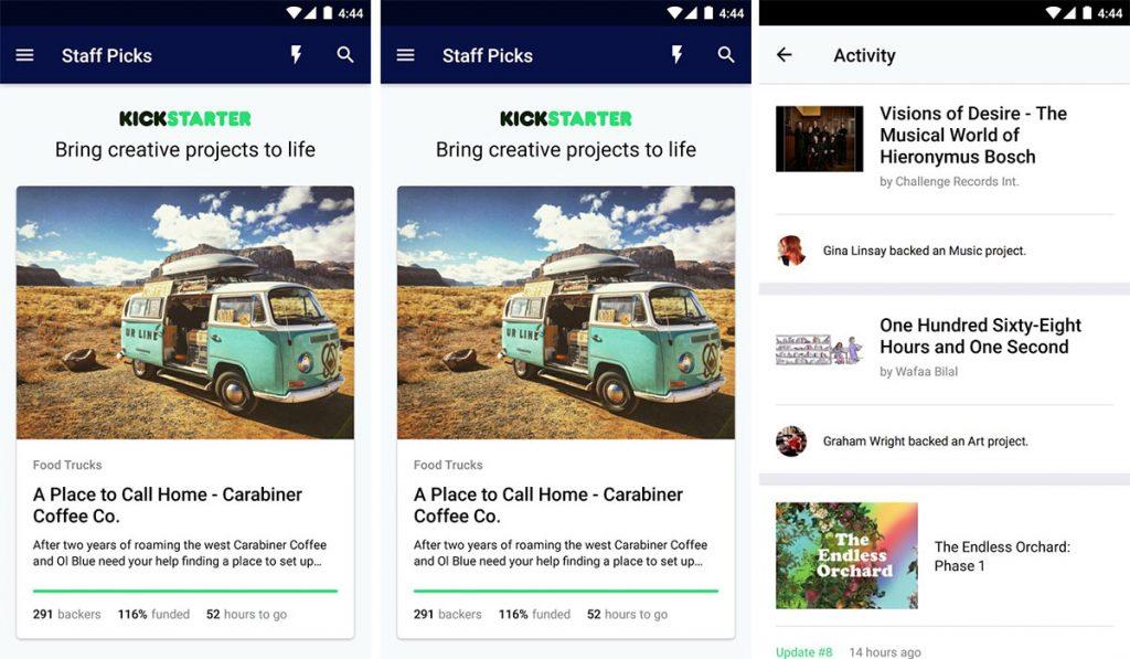 Kickstarter Android