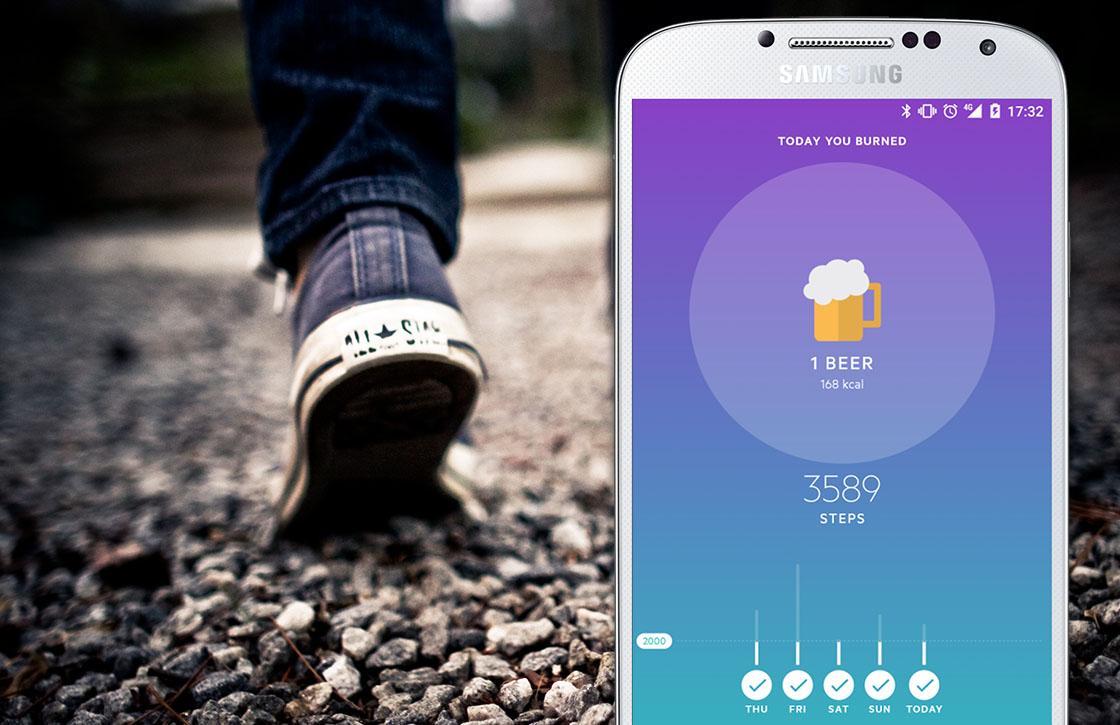 Movesum toont hoeveel biertjes je met wandelen verbrandt