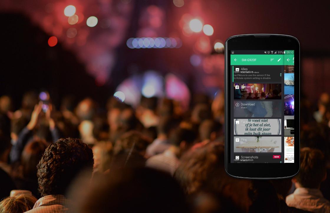 Fotoalbum-app Piktures laat je privékiekjes afschermen