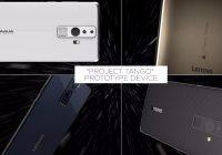 'Project Tango-smartphone krijgt groot 6,4 inch-scherm'