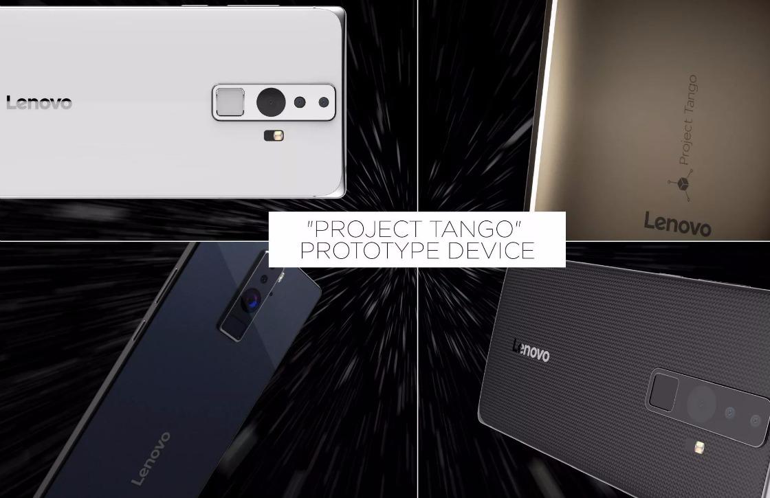 Lenovo en Google maken Project Tango-smartphone voor de massa