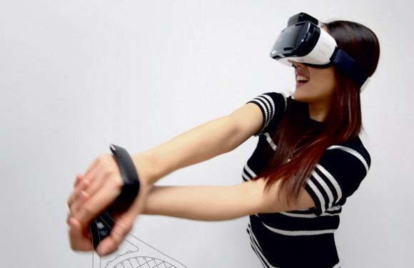 Zo ga je Gear VR-games besturen met Samsung Rink